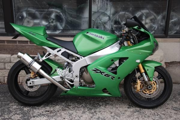 Used 2004 Kawasaki Ninja® ZX-6R 636 Motorcycles in Northlake, IL