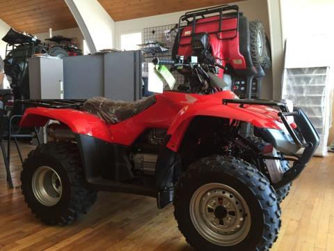 2016 Honda FourTrax Recon ES Red (TRX250TE) in Lapeer, Michigan - Photo 3
