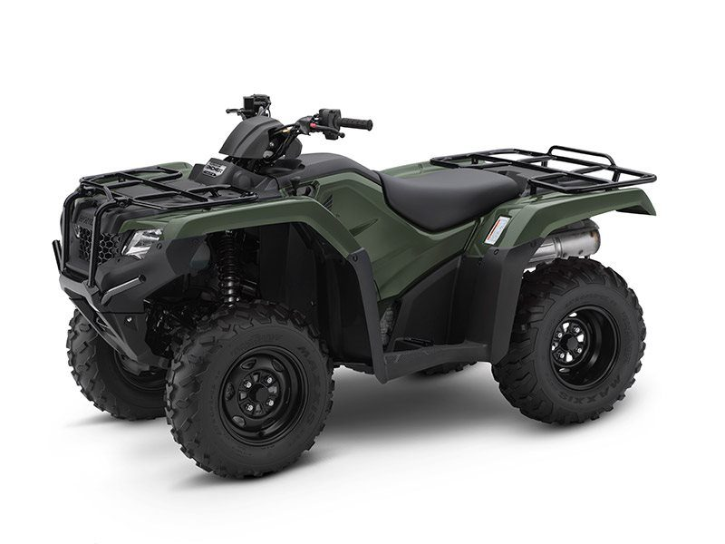 2017 Honda FourTrax Rancher 4x4 DCT EPS Olive (TRX420FA2F) in Lapeer, Michigan