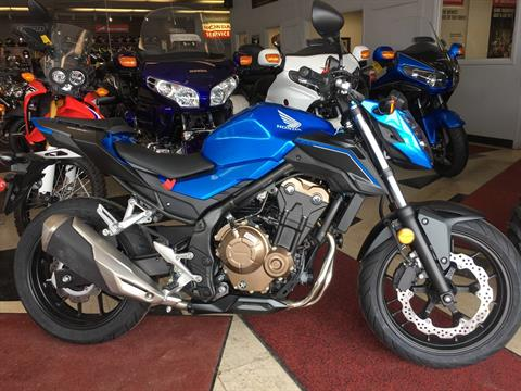 2018 Honda CB500F in Lapeer, Michigan - Photo 1