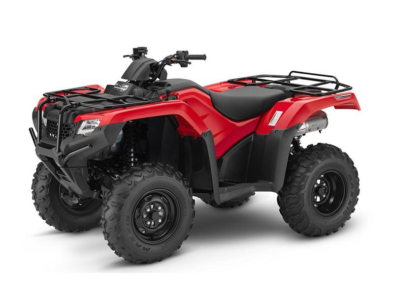 2016 Honda FourTrax Rancher 4x4 DCT IRS Red (TRX420FA5) in Lapeer, Michigan