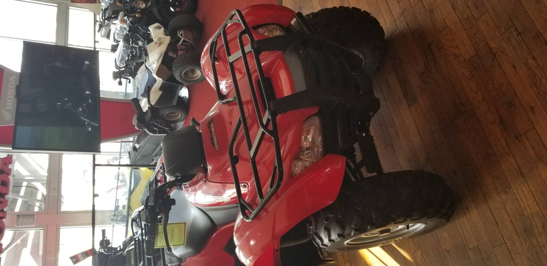 2012 Honda FourTrax® Rancher® 4x4 ES with EPS in Lapeer, Michigan - Photo 1