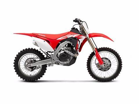 2017 Honda CRF450RX in Lapeer, Michigan