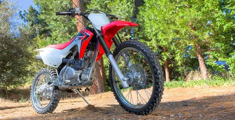 2018 Honda CRF125F in Lapeer, Michigan