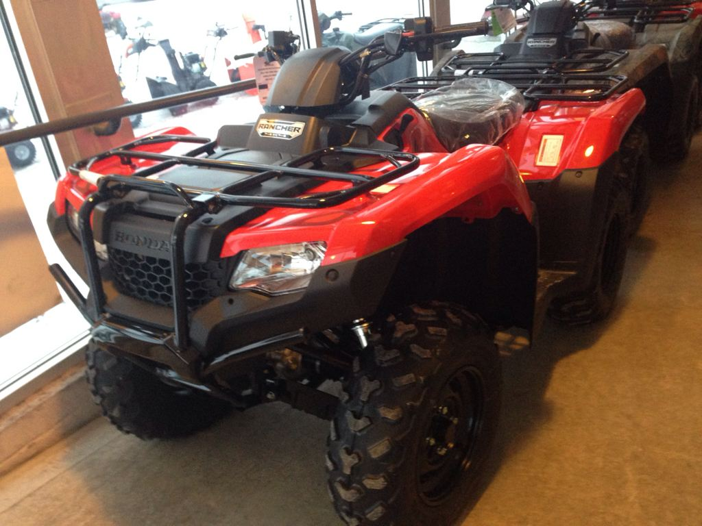 2015 Honda FourTrax® Rancher® 4x4 ES in Lapeer, Michigan