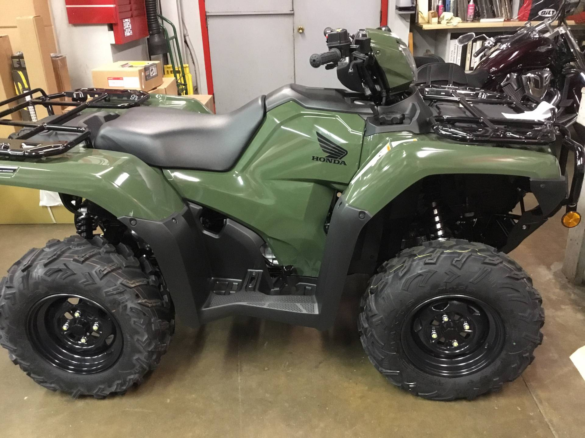 2019 Honda FourTrax Foreman Rubicon 4x4 Automatic DCT EPS in Lapeer, Michigan - Photo 1