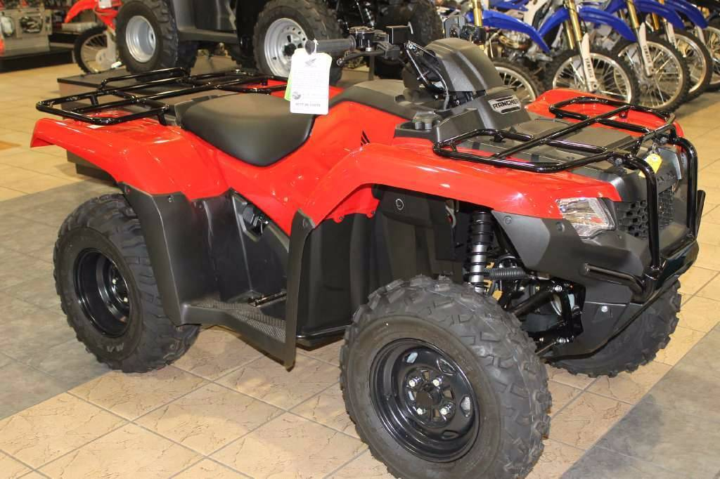 2016 Honda FourTrax Rancher ES Olive (TRX420TE1G) in Lapeer, Michigan