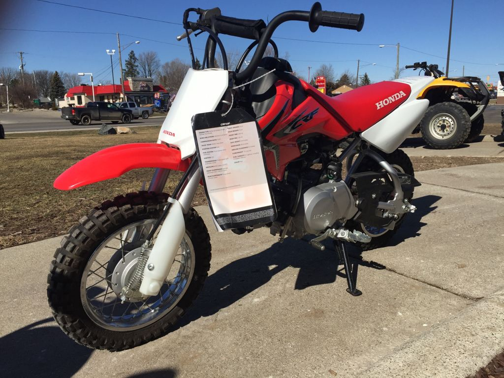 2016 Honda CRF50F in Lapeer, Michigan - Photo 3