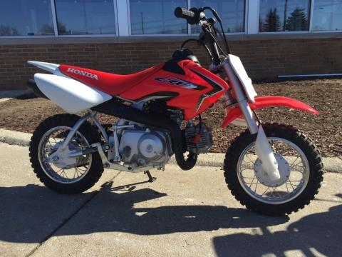 2016 Honda CRF50F in Lapeer, Michigan - Photo 5