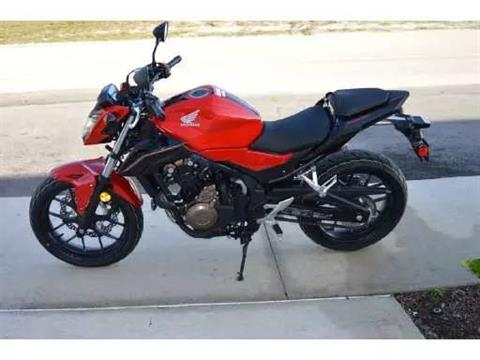 2017 Honda CB500F in Lapeer, Michigan