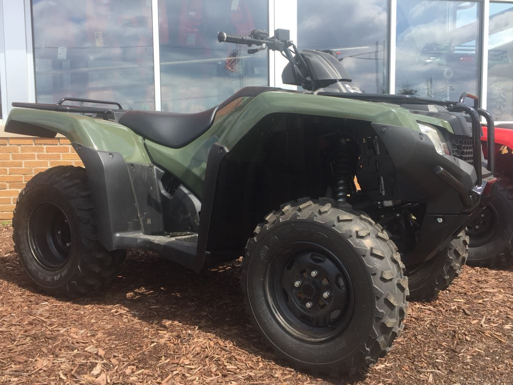 2017 Honda FourTrax Rancher Olive (TRX420TM1) in Lapeer, Michigan