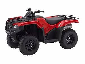 2017 Honda FourTrax Rancher 4x4 Olive (TRX420FM1) in Lapeer, Michigan - Photo 4