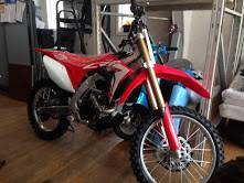2017 Honda CRF450R in Lapeer, Michigan