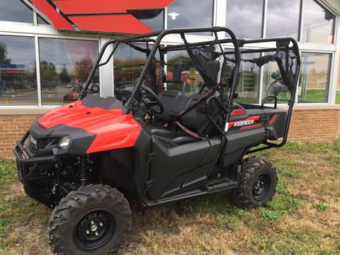 2018 Honda Pioneer 700-4 in Lapeer, Michigan - Photo 1