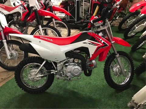 2018 Honda CRF110F in Lapeer, Michigan