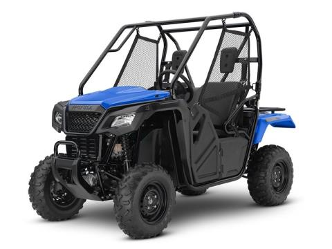 2016 Honda Pioneer 500 Metallic Blue (SXS500M2) in Lapeer, Michigan