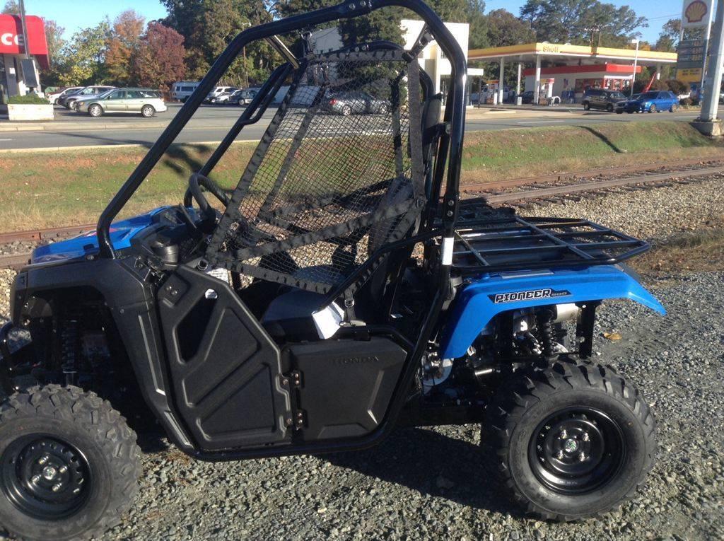 2016 Honda Pioneer 500 Metallic Blue Sxs500m2 In Lar Michigan