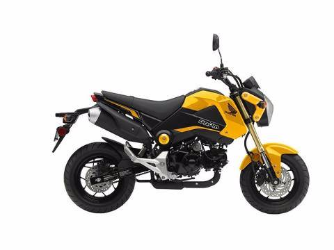 2014 Honda Grom 125 in Lapeer, Michigan - Photo 4