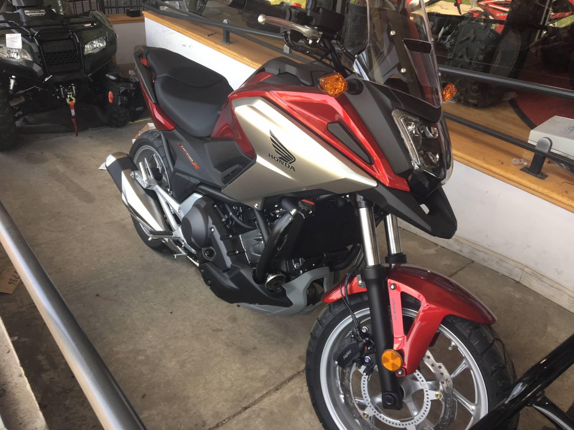 New 2018 Honda Nc750x Motorcycles In Lapeer Mi