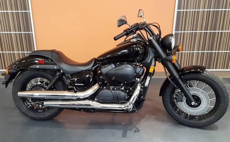 New 2016 Honda Shadow Phantom Black Motorcycles in Lapeer, MI