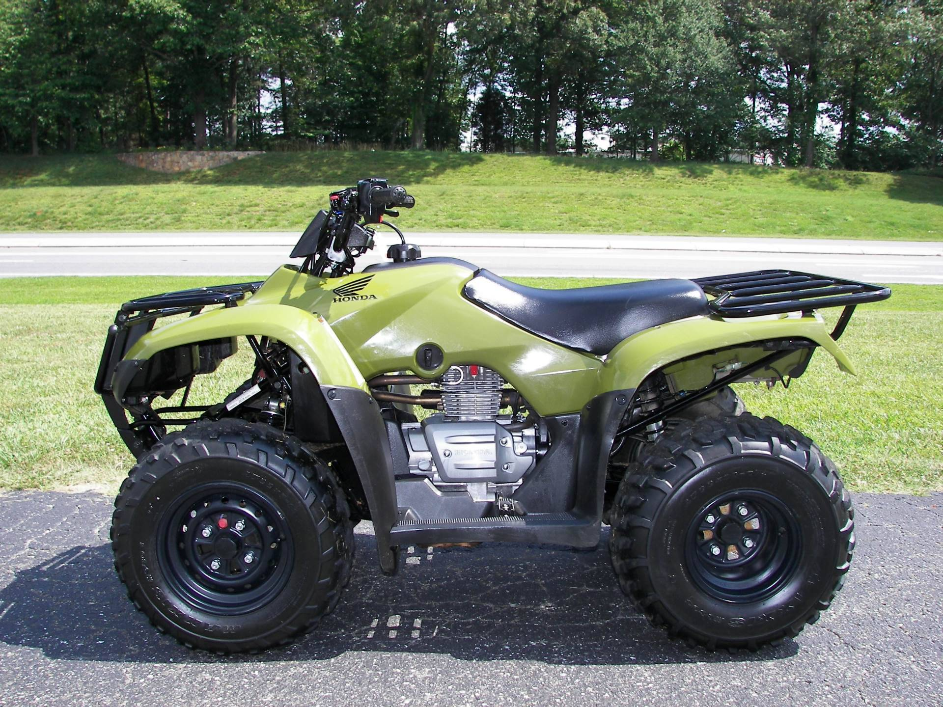 2017 Honda FourTrax Recon ES Green (TRX250TE) in Lapeer, Michigan - Photo 1