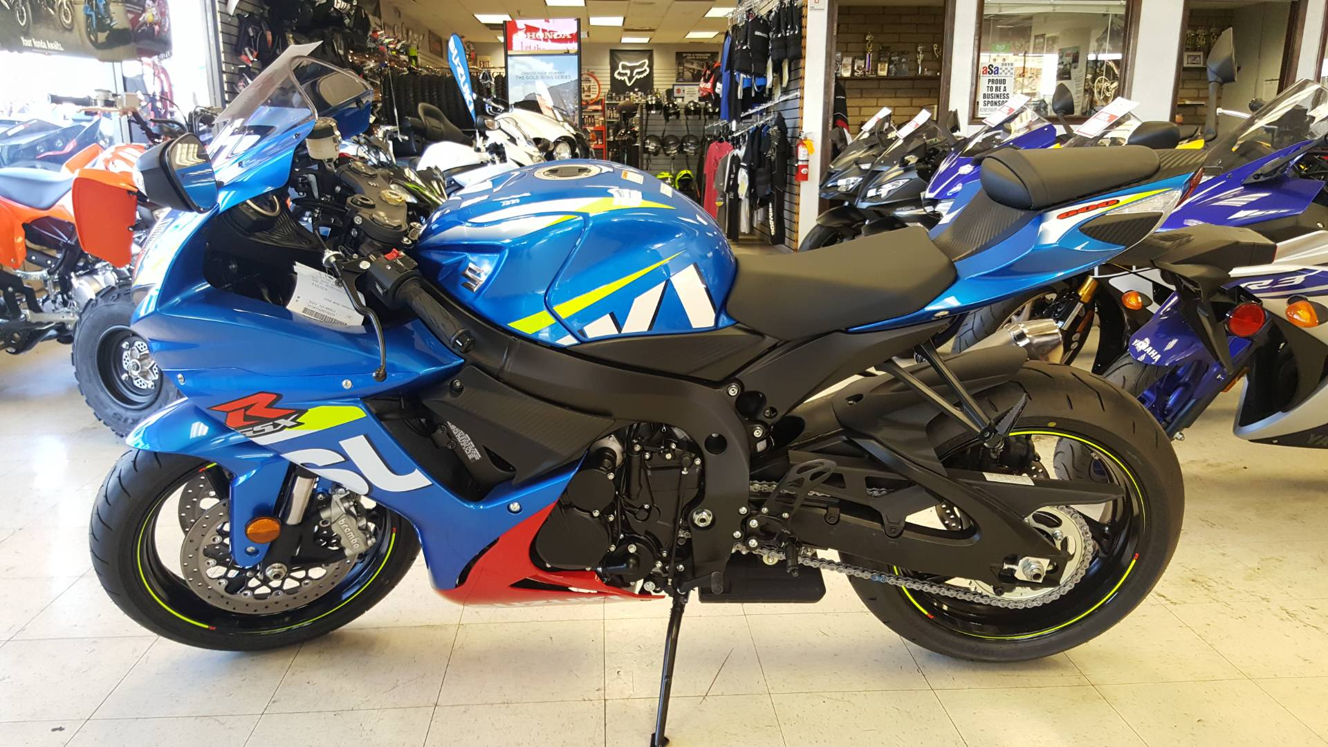 2016 Suzuki GSX-R600 in Phoenix, Arizona