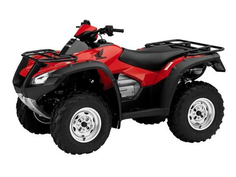 2016 Honda FourTrax Rincon Red (TRX680FA) in Phoenix, Arizona