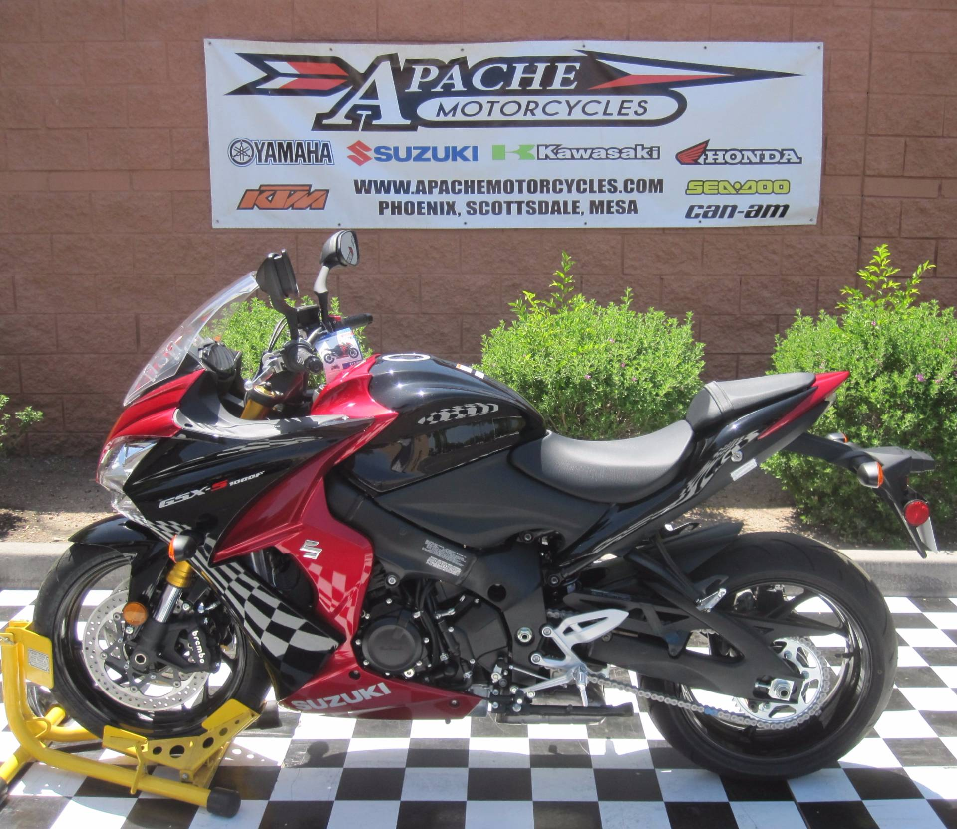 2016 Suzuki GSX-S1000F ABS in Phoenix, Arizona
