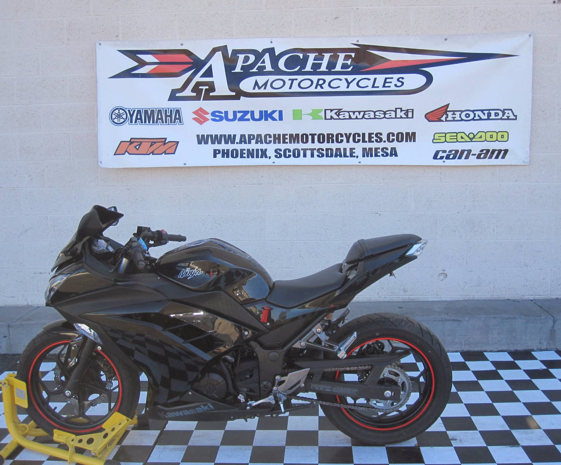 2014 Kawasaki Ninja® 300 ABS in Phoenix, Arizona