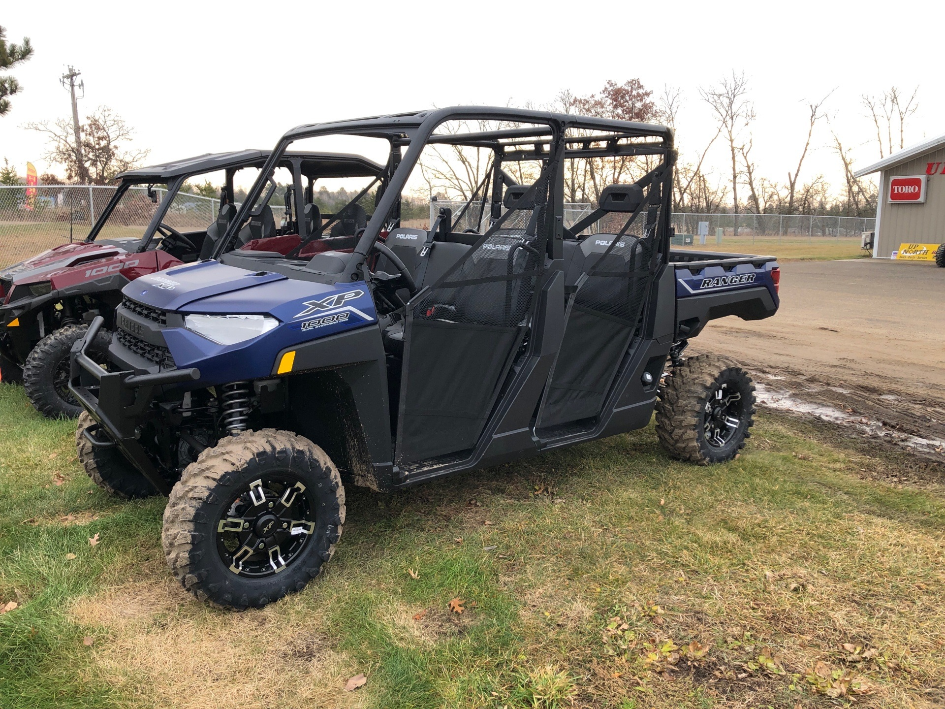 2021 Polaris Ranger Crew XP 1000 Premium in Park Rapids, Minnesota - Photo 1