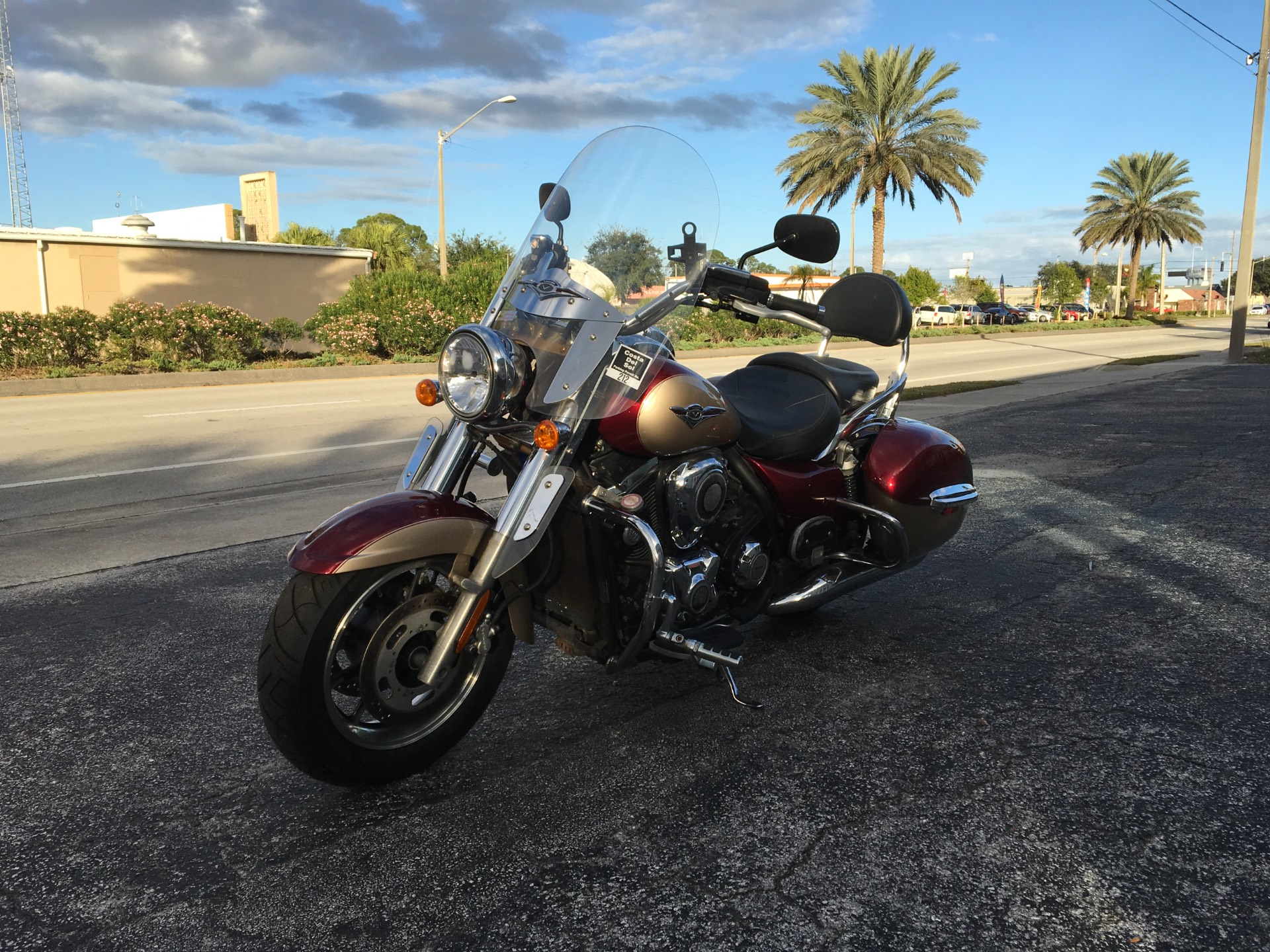 2009 Kawasaki Vulcan Nomad in Cocoa, Florida - Photo 4