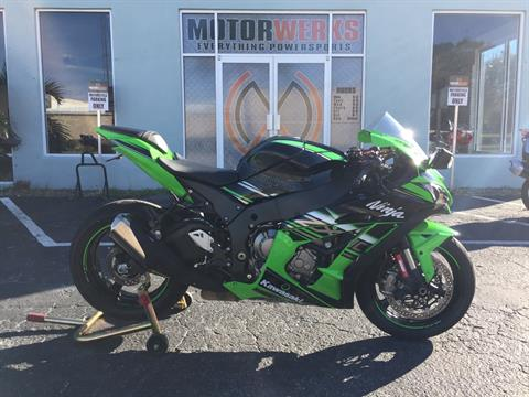2016 Kawasaki Ninja ZX-10R ABS KRT Edition in Cocoa, Florida - Photo 2