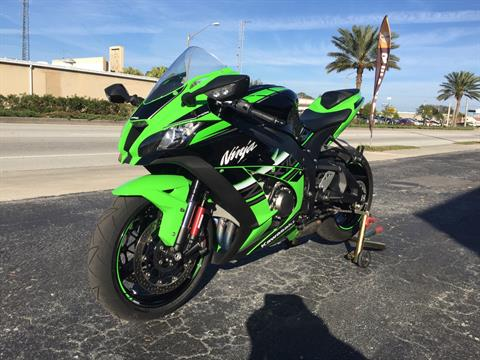 2016 Kawasaki Ninja ZX-10R ABS KRT Edition in Cocoa, Florida - Photo 6