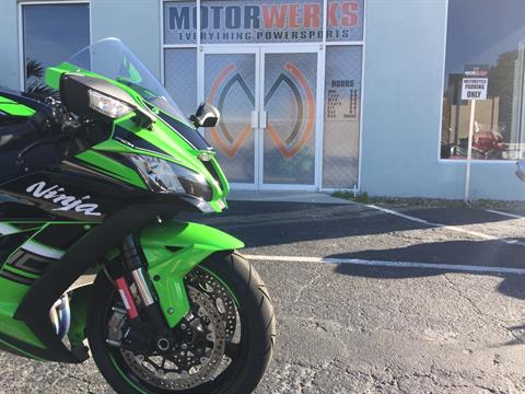 2016 Kawasaki Ninja ZX-10R ABS KRT Edition in Cocoa, Florida - Photo 12