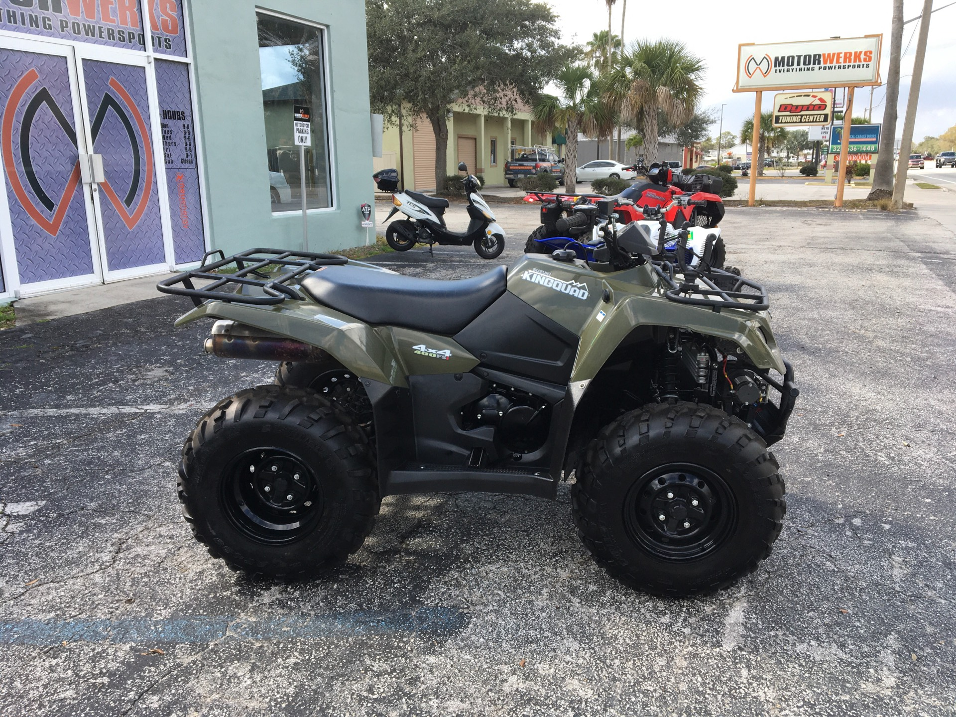 2017 SUZUKI  KINGQUAD in Cocoa, Florida - Photo 1