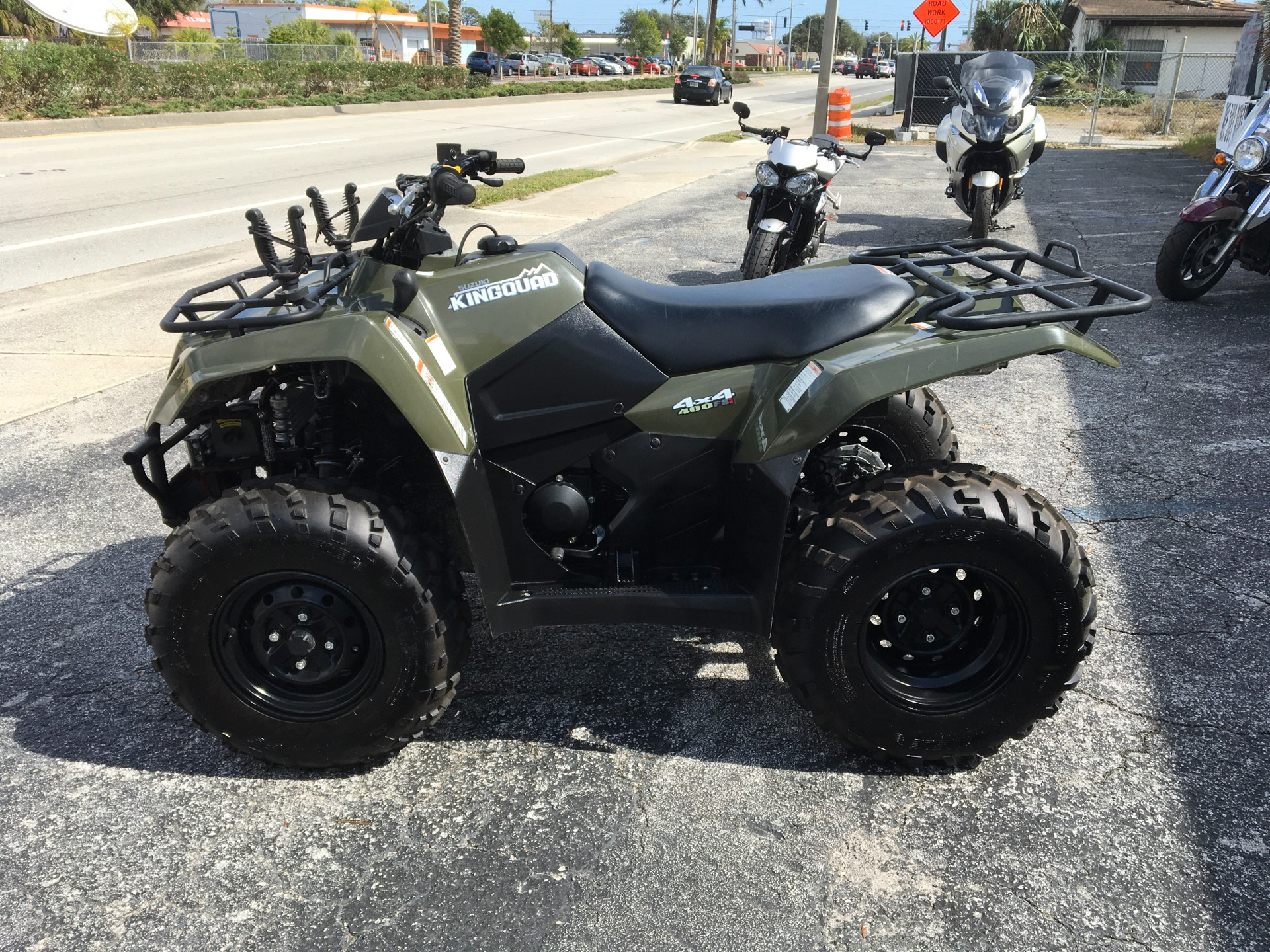 2017 SUZUKI  KINGQUAD in Cocoa, Florida - Photo 3