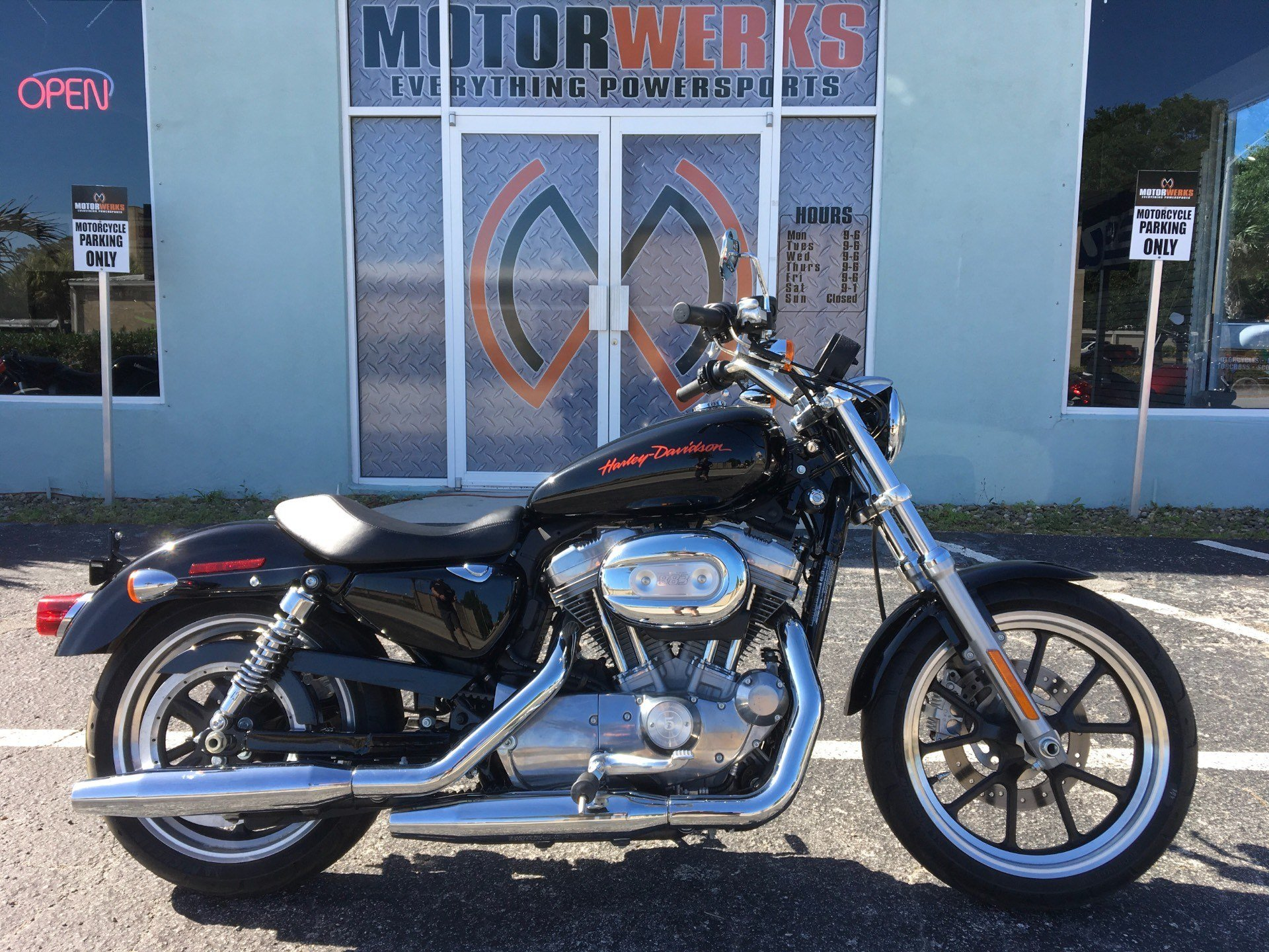2013 Harley-Davidson Sportster® 883 SuperLow® in Cocoa, Florida - Photo 1