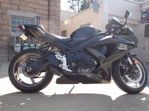 2009 Suzuki GSX-R750 in Pittsburgh, Pennsylvania