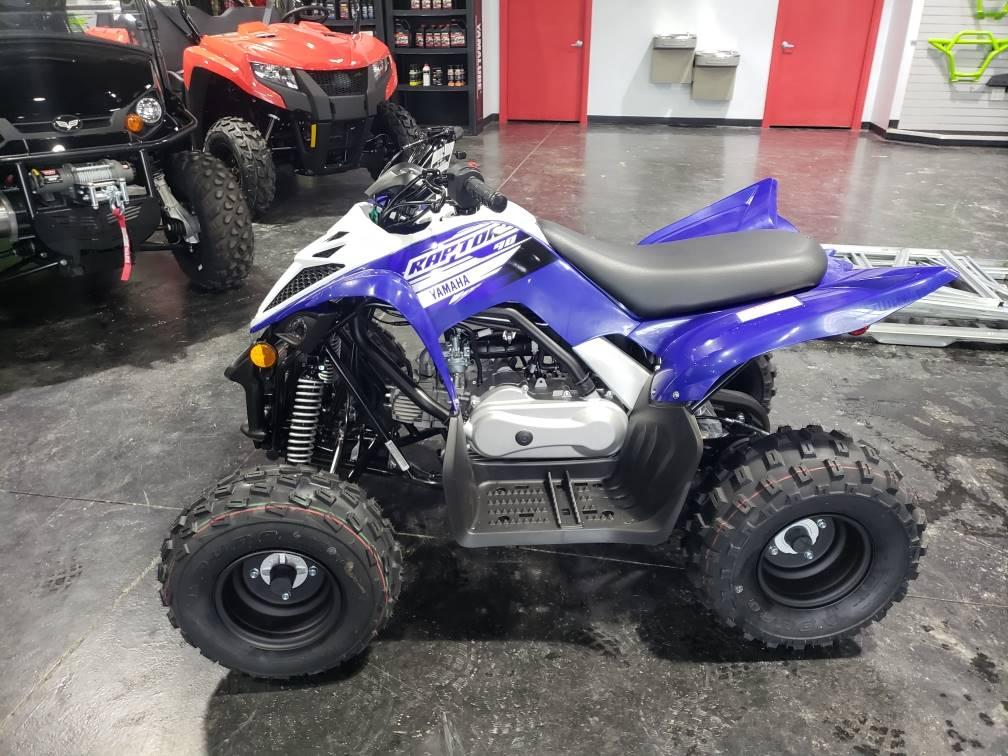 2019 Yamaha Raptor 90 1