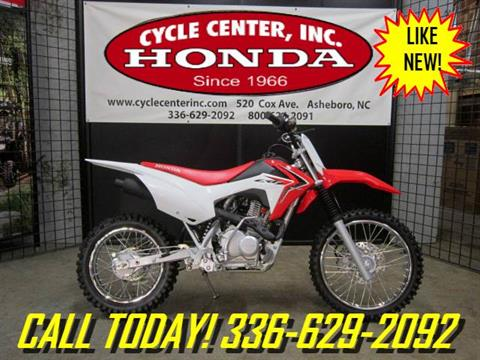2017 Honda CRF125F in Asheboro, North Carolina