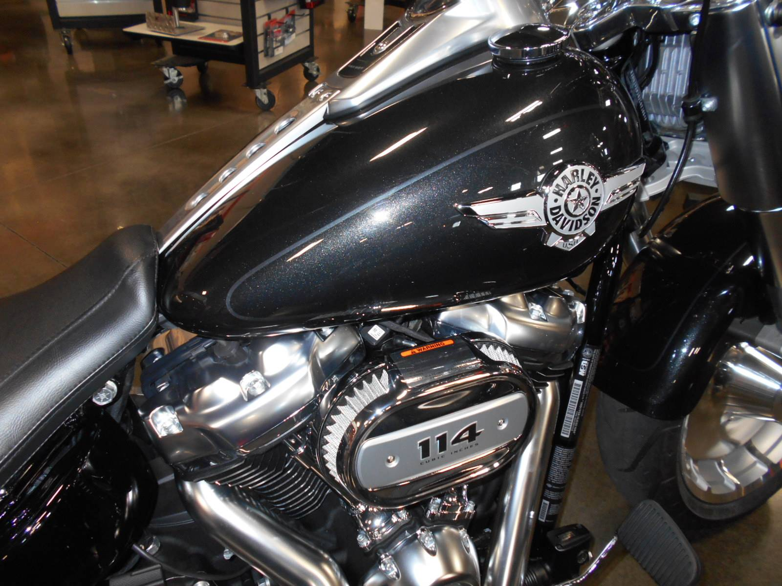 2018 Harley-Davidson Fat Boy® 114 in Mauston, Wisconsin - Photo 2