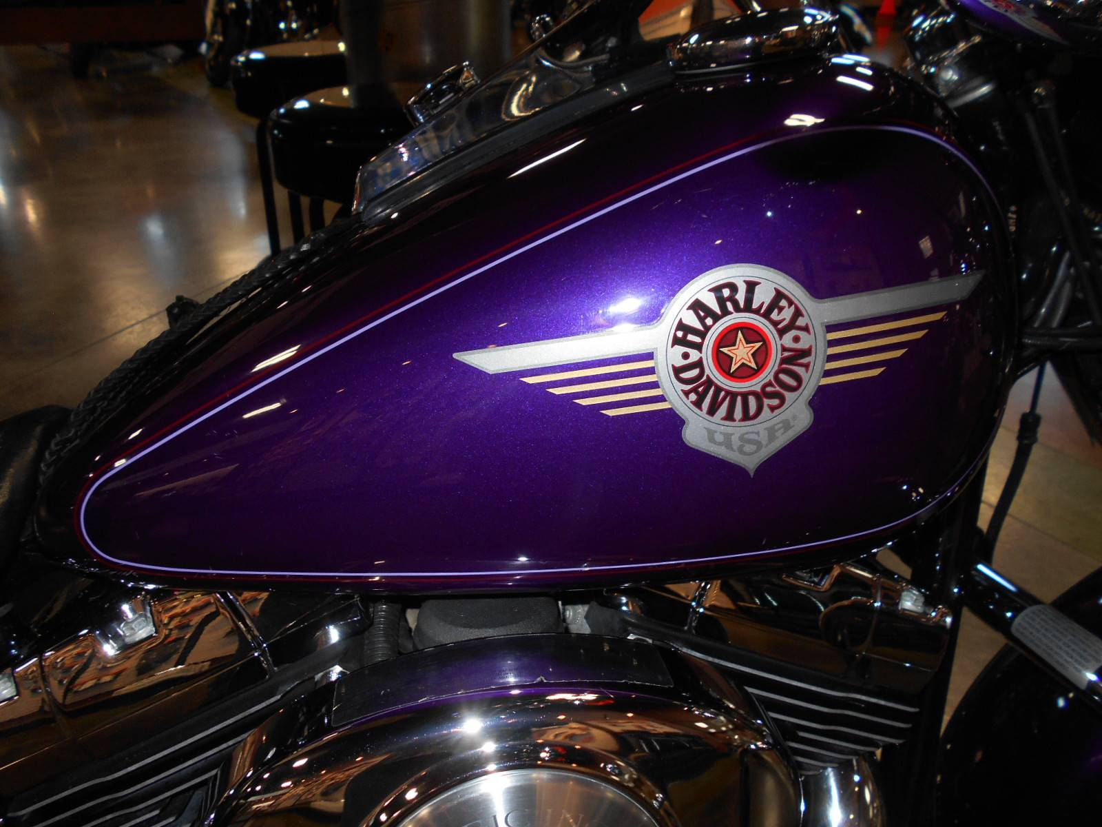 2001 Harley-Davidson FLSTF/FLSTFI Fat Boy® in Mauston, Wisconsin - Photo 2