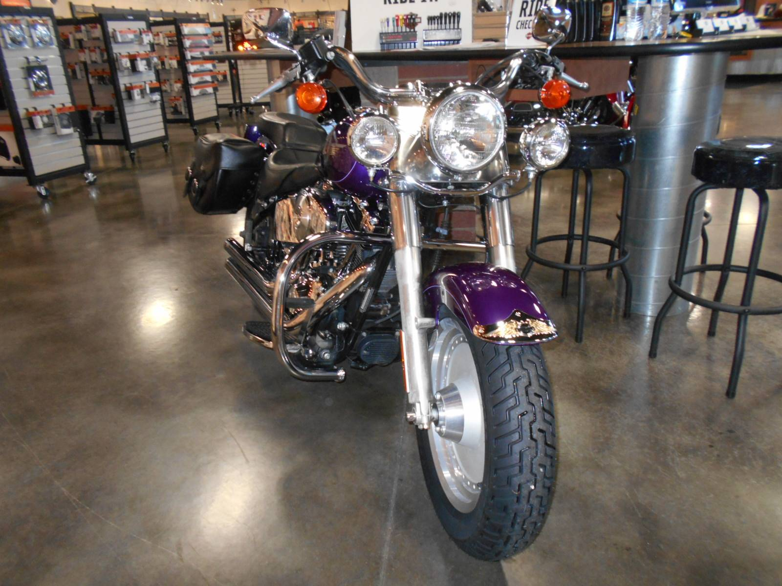 2001 Harley-Davidson FLSTF/FLSTFI Fat Boy® in Mauston, Wisconsin - Photo 4