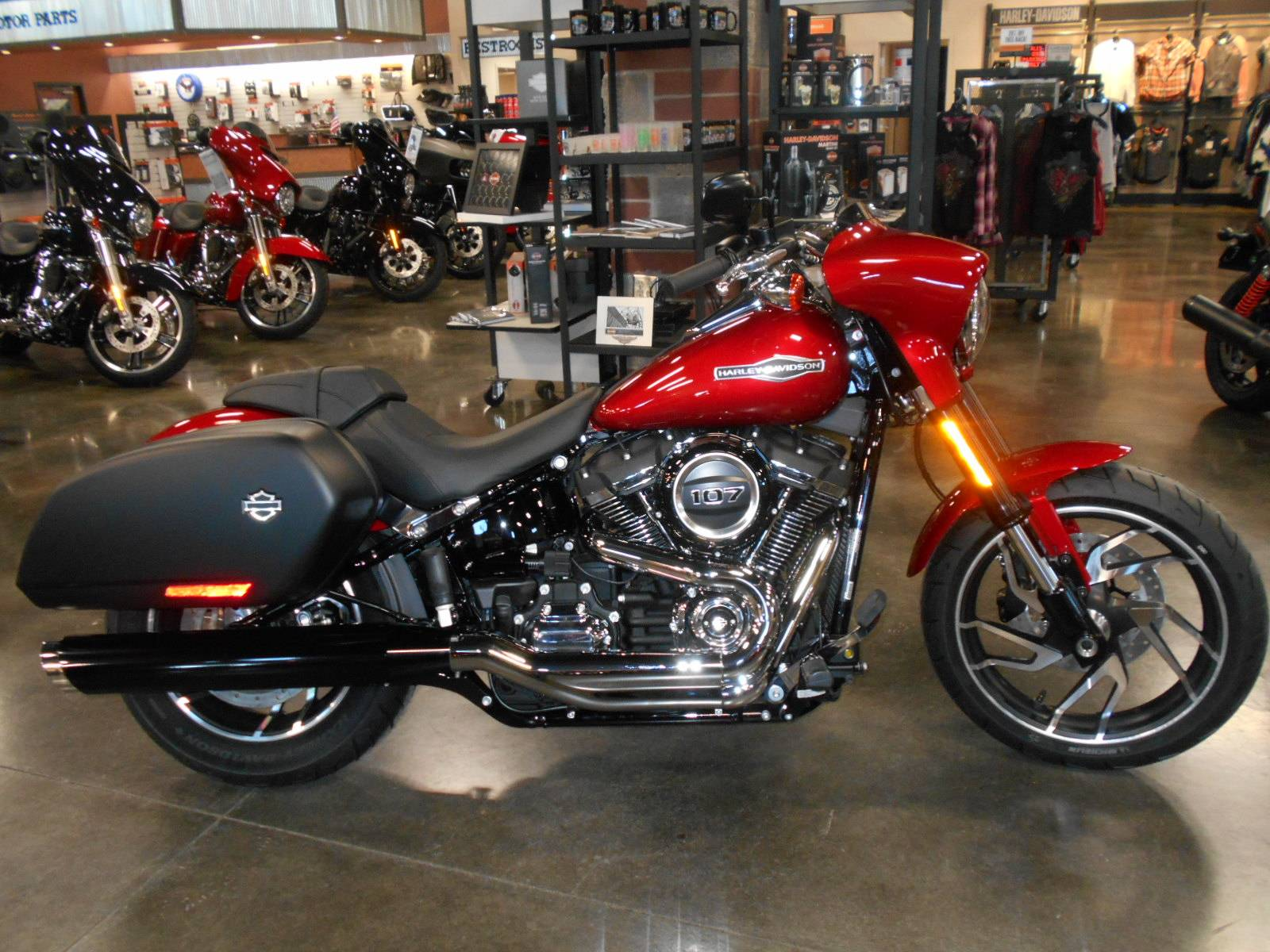 2019 Harley-Davidson Sport Glide® in Mauston, Wisconsin - Photo 1