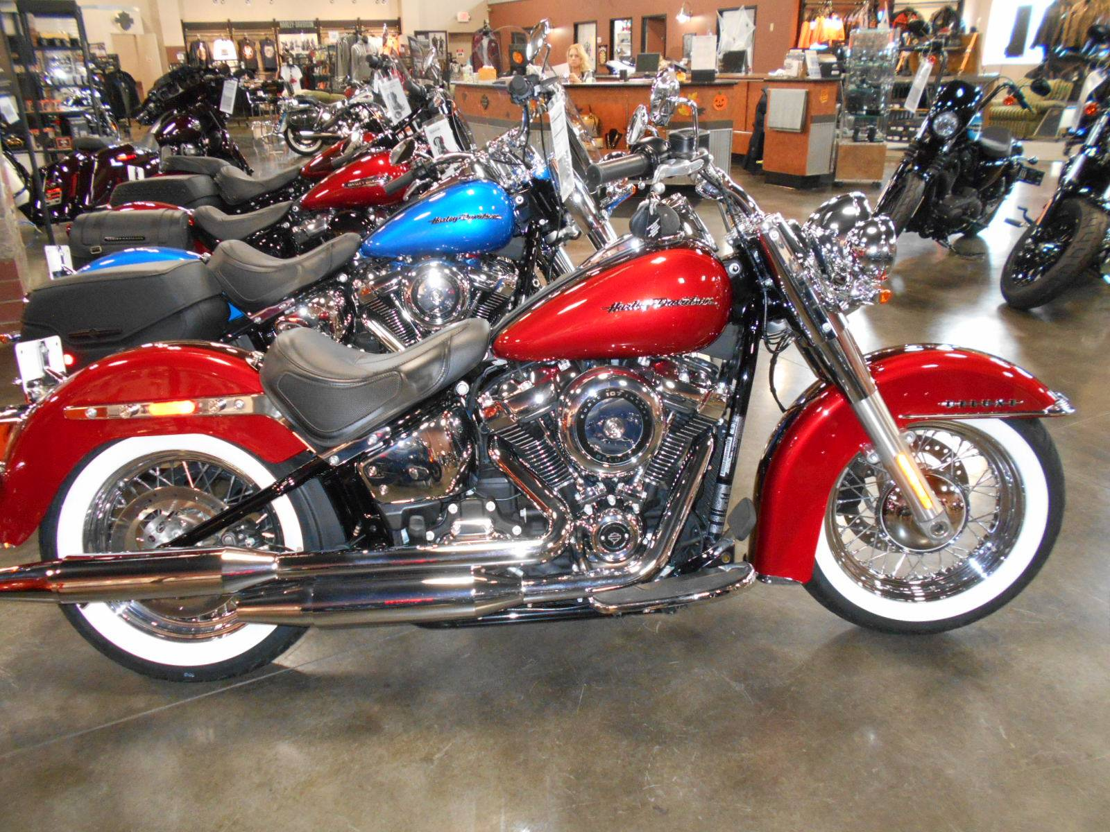 Harley Davidson Softail Deluxe >> 2018 Harley Davidson Softail Deluxe 107 In Mauston Wisconsin