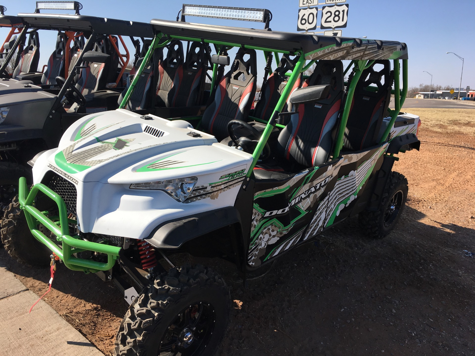 2018 Odes Dominator X4 SE Zeus 1000 in Seiling, Oklahoma - Photo 1