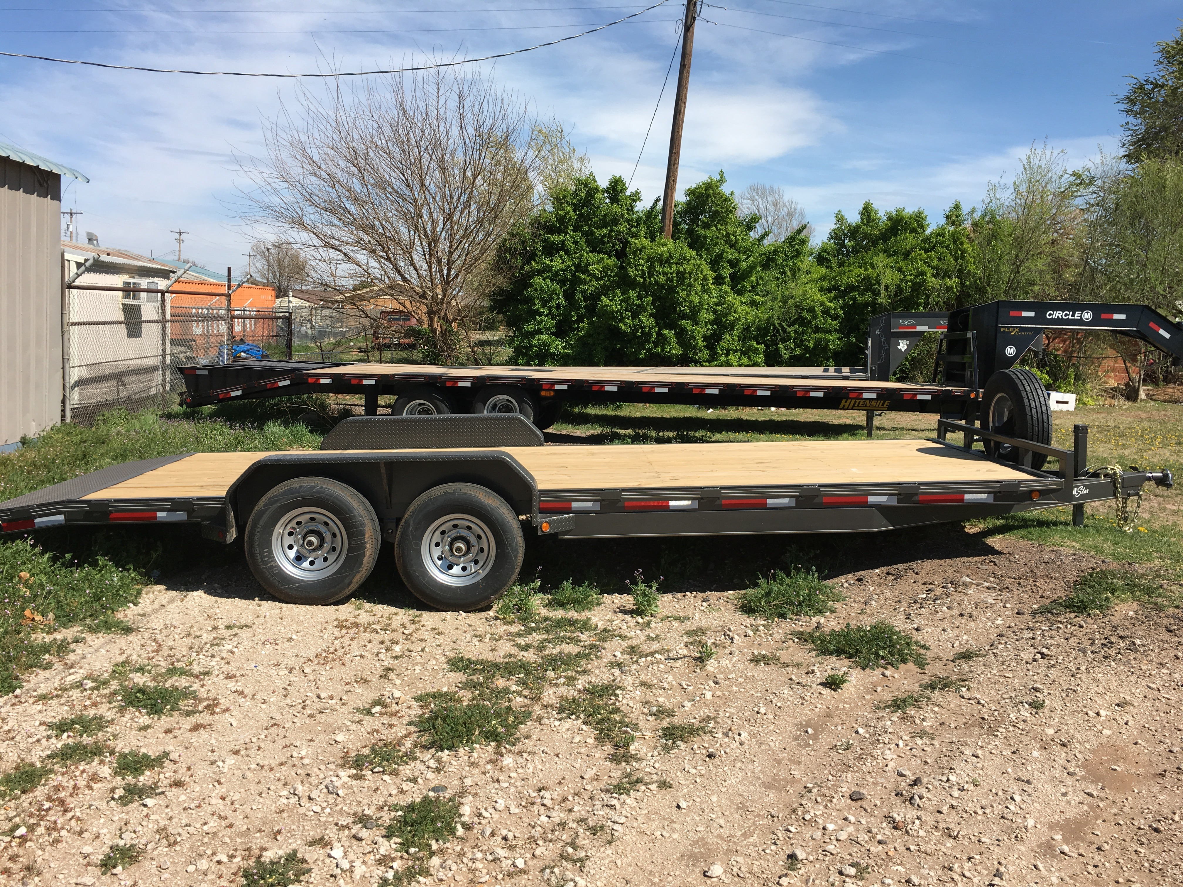 2016 Lone Star Trailer MFG 22x83 HD Car Hauler in Seiling, Oklahoma