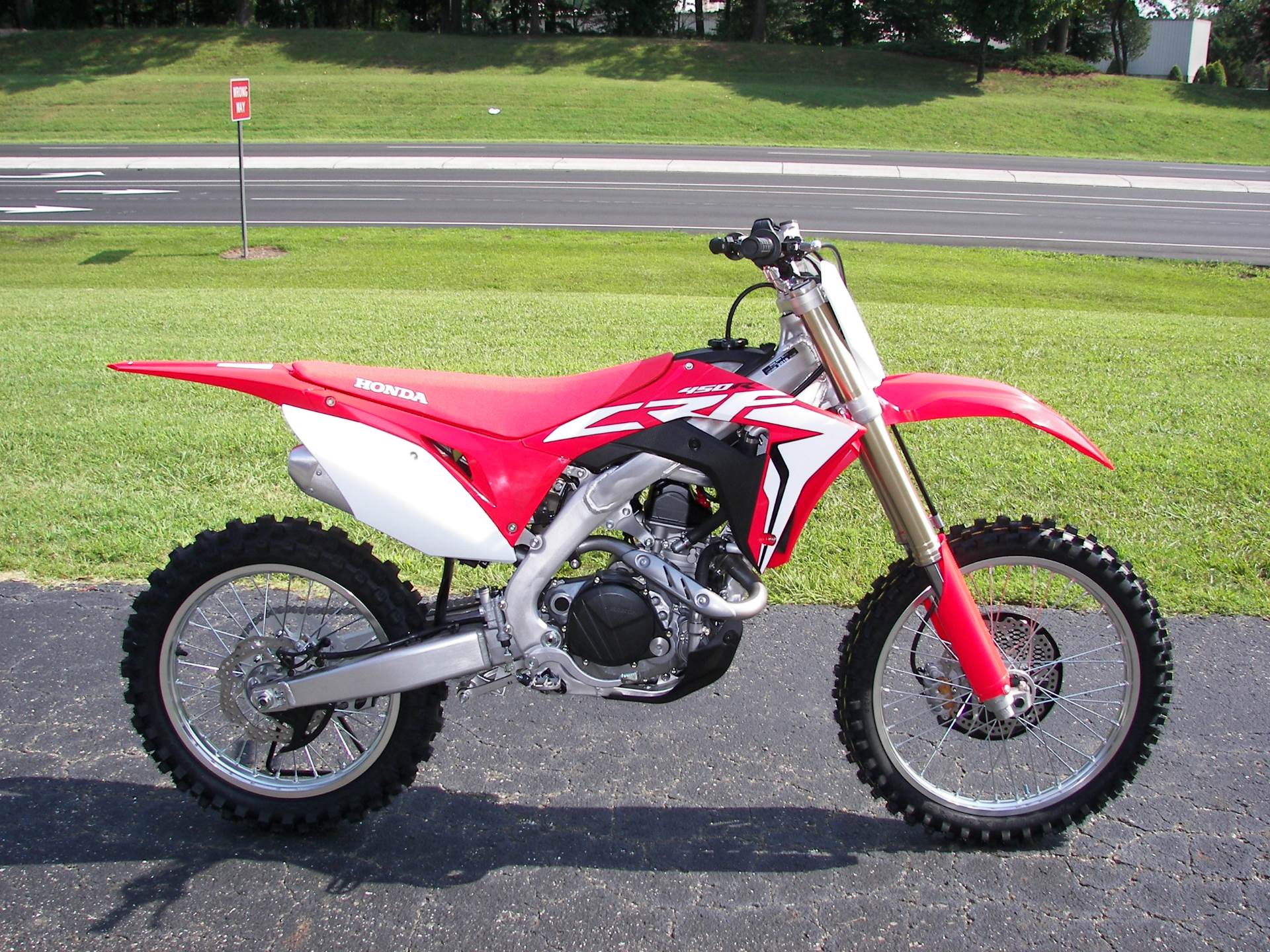 2018 Honda CRF450R in Shelby, North Carolina