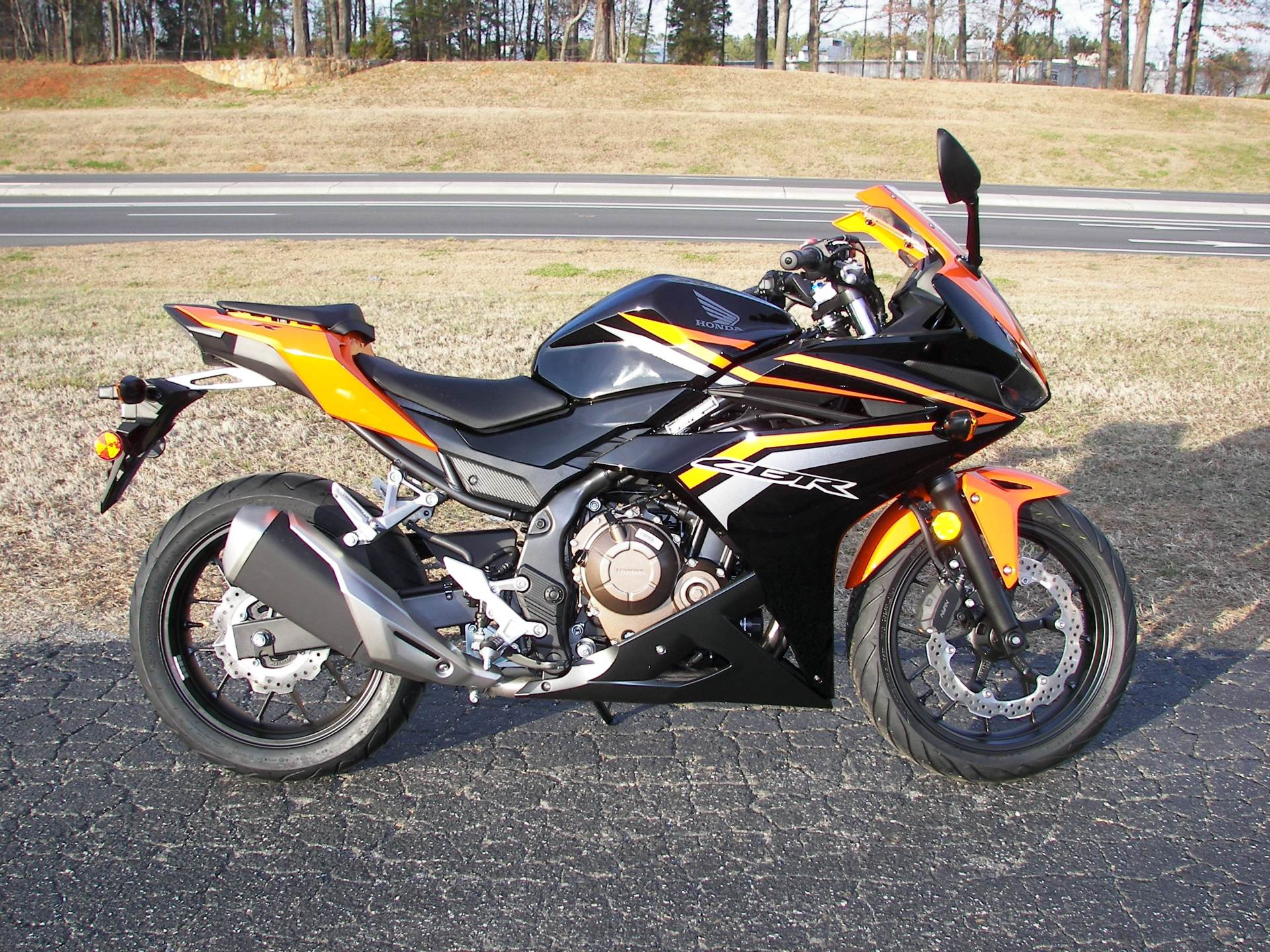 2017 Honda CBR500R in Shelby, North Carolina