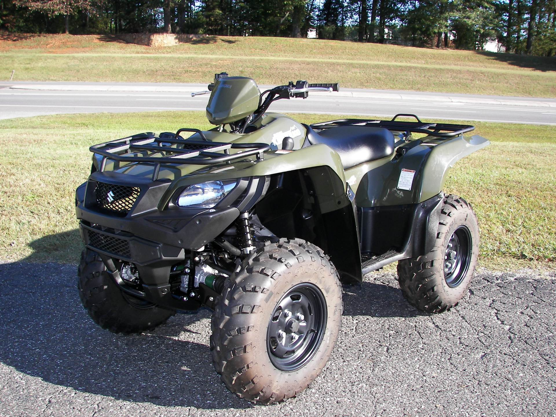 2018 Suzuki KingQuad 750AXi in Shelby, North Carolina - Photo 3